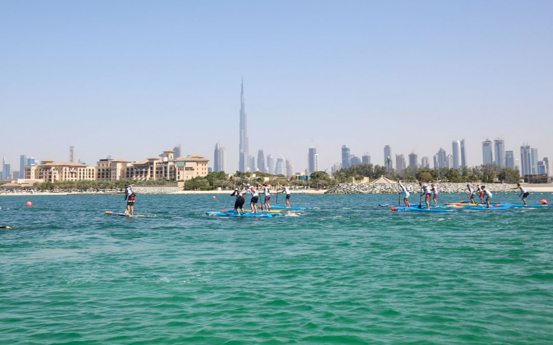 DXB Paddling SUP Race in Dubai with SeaYou