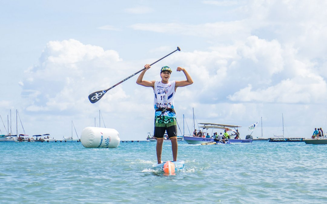 Incredible Tahitian Moments from 2018 Air France Paddle Festival
