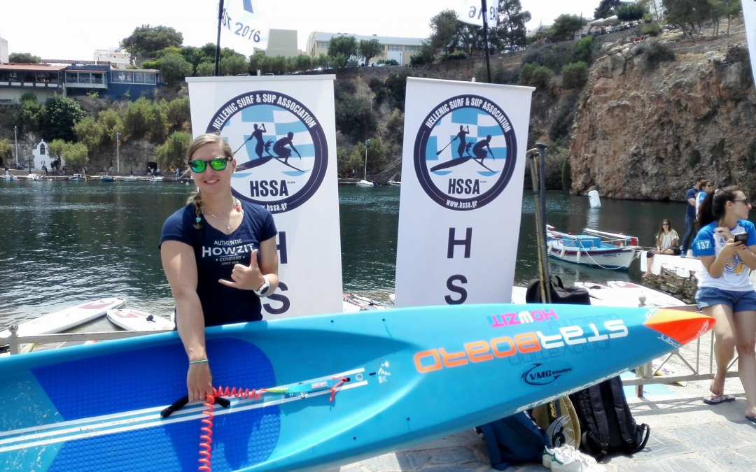 Booth & Chazot Win Agios Nikolaos On SUP Race