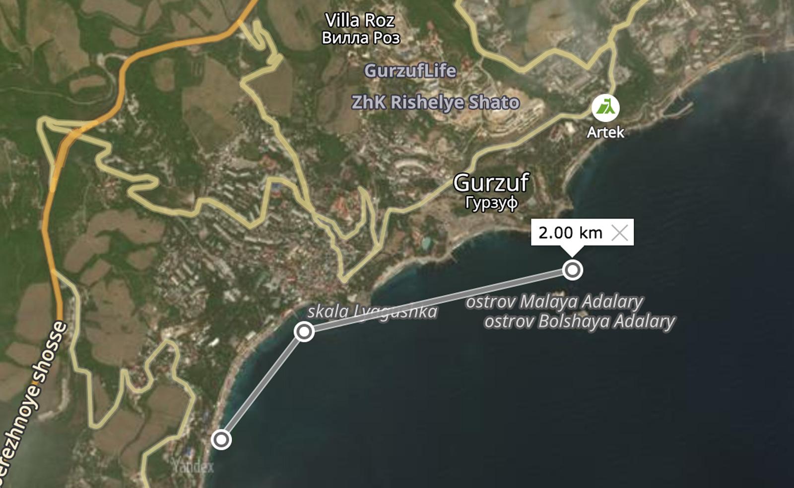 julia-karpacheva-paddleboarding-russia-black-sea-paddle-gps-map-route-2