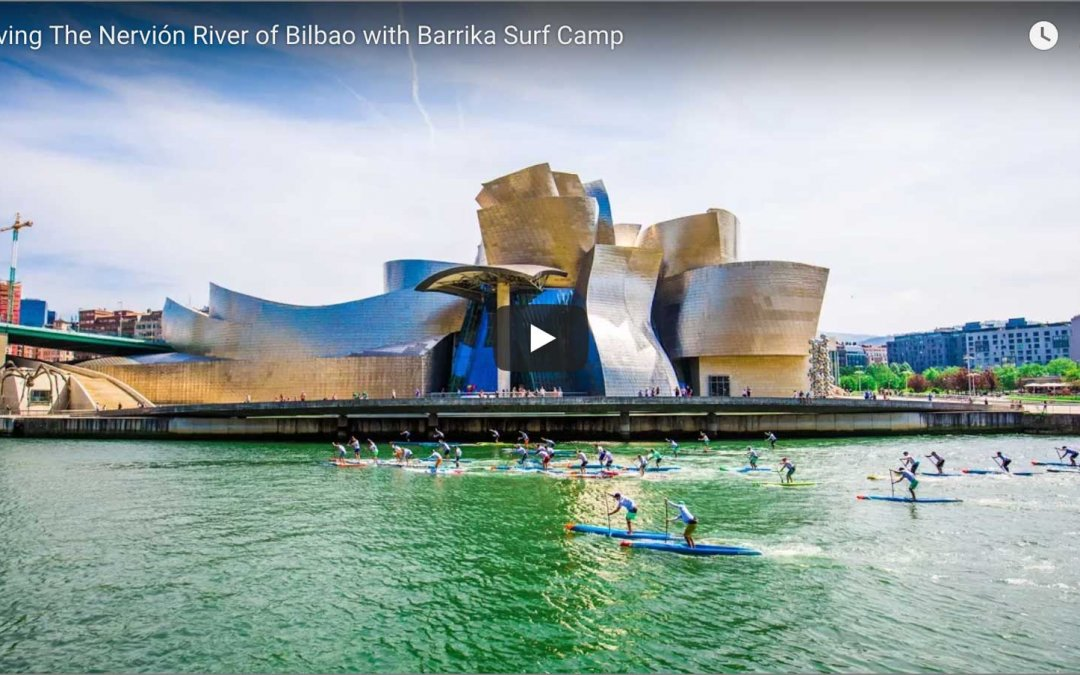 Saving The Nervión River of Bilbao in Basque Country, Spain