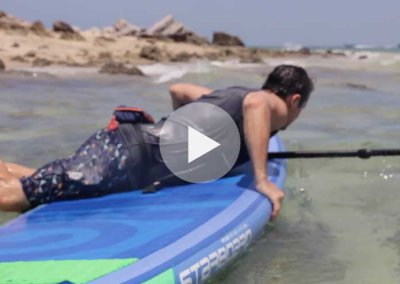 HOW TO GET BACK ON YOUR SUP INFLATABLE BOARD