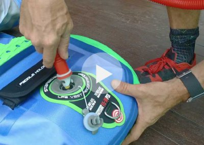 HOW TO INFLATE AND DEFLATE A STARBOARD SUP