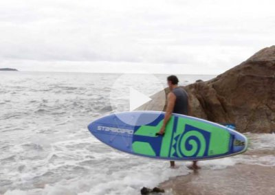 LAUNCHING ON YOUR INFLATABLE SUP