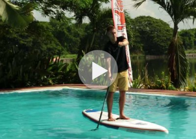 HOW TO HOLD YOUR STARBOARD SUP PADDLE