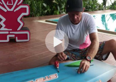 HOW TO INSTALL FIN ON STARBOARD RACE BOARD