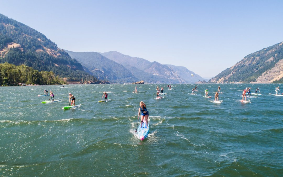8th Annual Columbia Gorge Paddle Challenge Story by Fiona Wylde