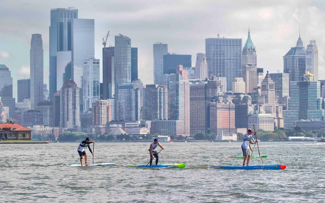 Baxter is Back – Wins APP's 2018 NY SUP Open Overall Title