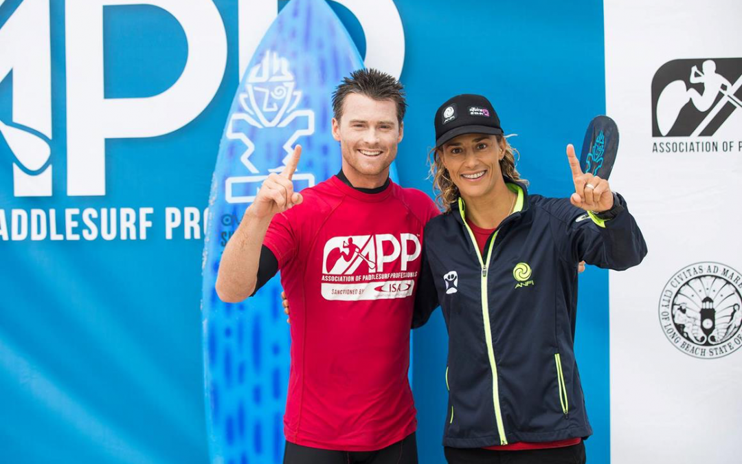 Dream Team is on TOP at the Weekend's APP World Surfing Tour's 1st Stop in New York