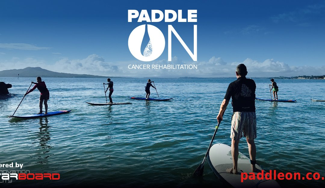 Physiotherapists Use SUP Exercise Rehabilitation for People Affected by Cancer