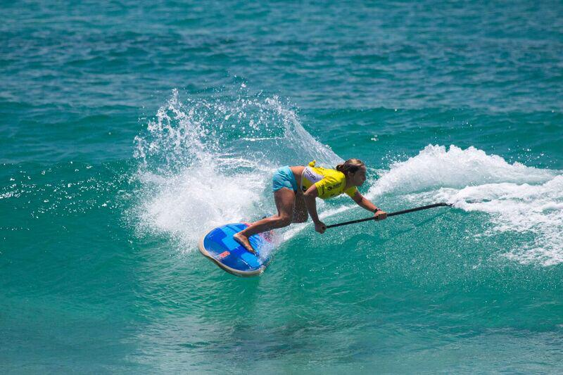Shakira Westdorp Wins 2018 Australian SUP Titles