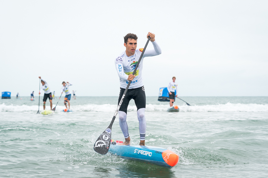 Team USA's Ryan Funk Wins First Junior SUP World Title