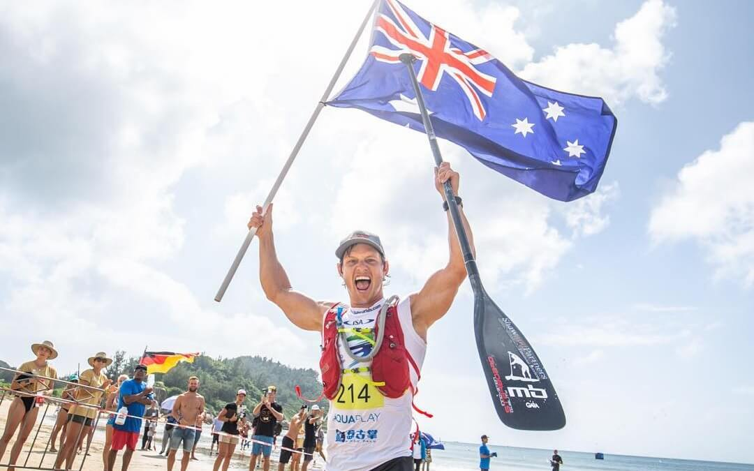 Michael Booth is 2018 ISA SUP Long Distance World Champion