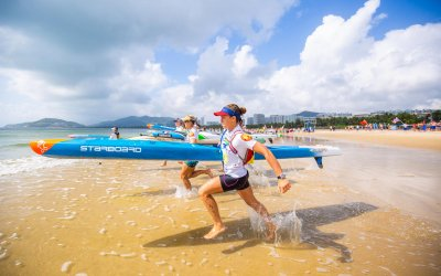 Shakira Westdorp Claims Bronze in 2018 ISA SUP Championships Long Distance