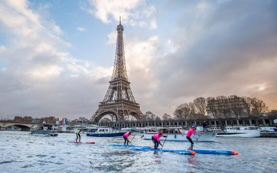 Clean Sweep Of Podium Positions for Team Starboard at APP 2018 Paris SUP Open