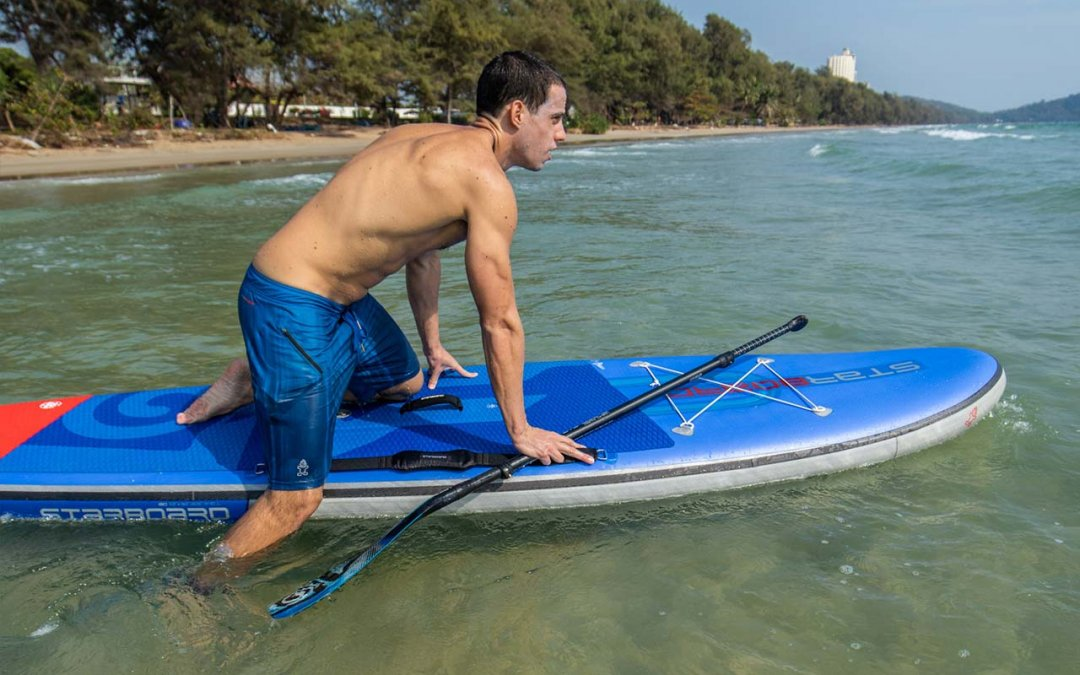 How To Get On A Stand Up Paddle Board SUP