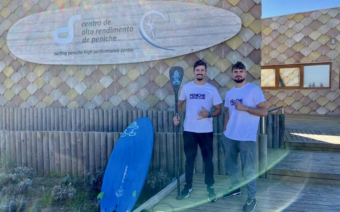High Performance Centre for SUP in Peniche, Portugal with Nika Brothers