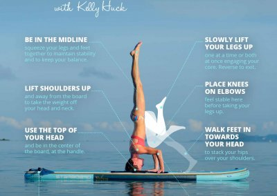 How To Do a SUP Yoga Headstand