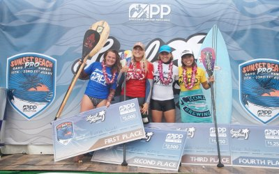 Fiona Wylde Thrilled with Win at APP World Tour's 2019 Sunset Beach Pro