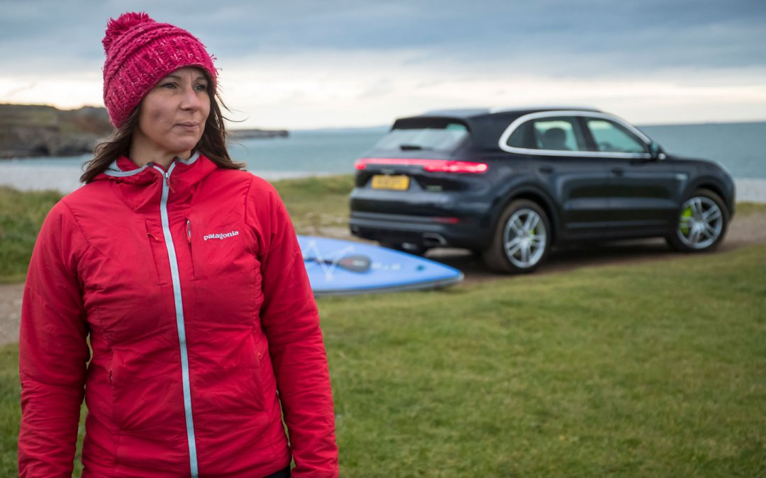 Cleaning Up with with Eco-Warrior Sian Sykes & Porsche