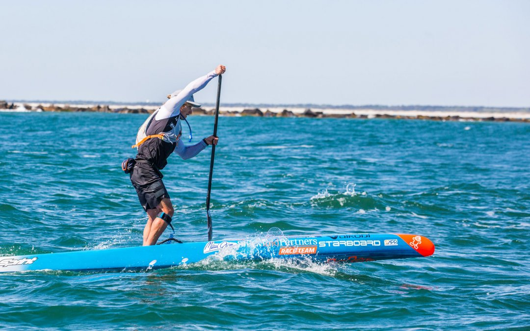 Michael Booth Set to Defend Carolina Cup SUP Race Title