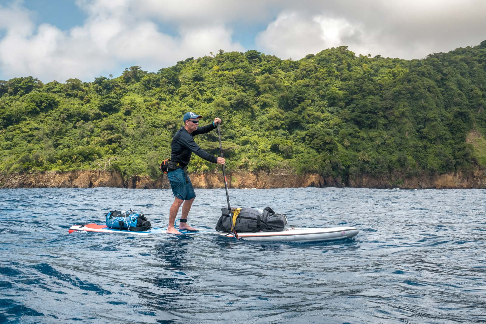 Starboard-SUP-Bart-de-Zwart-Trevor-Tunnington-Explore-the-Islands-of-Vanuatu-by-Stand-Up-Paddleboard-14-inflatable-touring