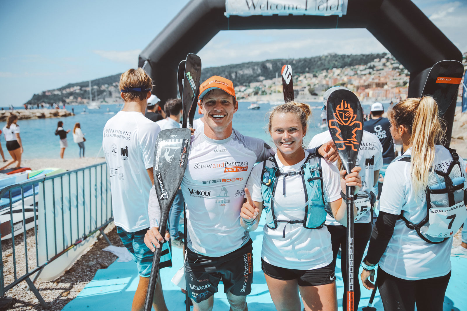 Starboard-SUP-Stand-Up-Paddleboarding-Michael-Booth-Fiona-Wykle-Azur-Paddle-Days-Race-Event-