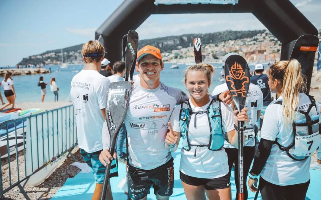 Wylde & Booth Win 2019 Azur Paddle Days in France