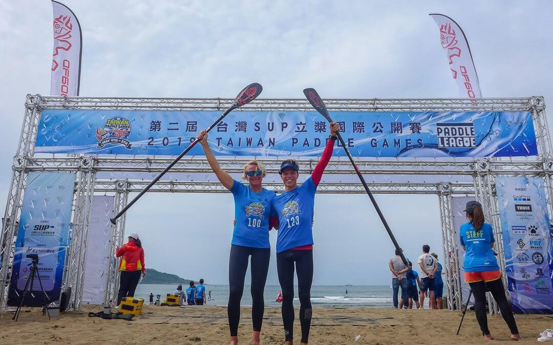 Hasulyo & Hönscheid Lead the Way at 2019 Taiwan Paddle Games