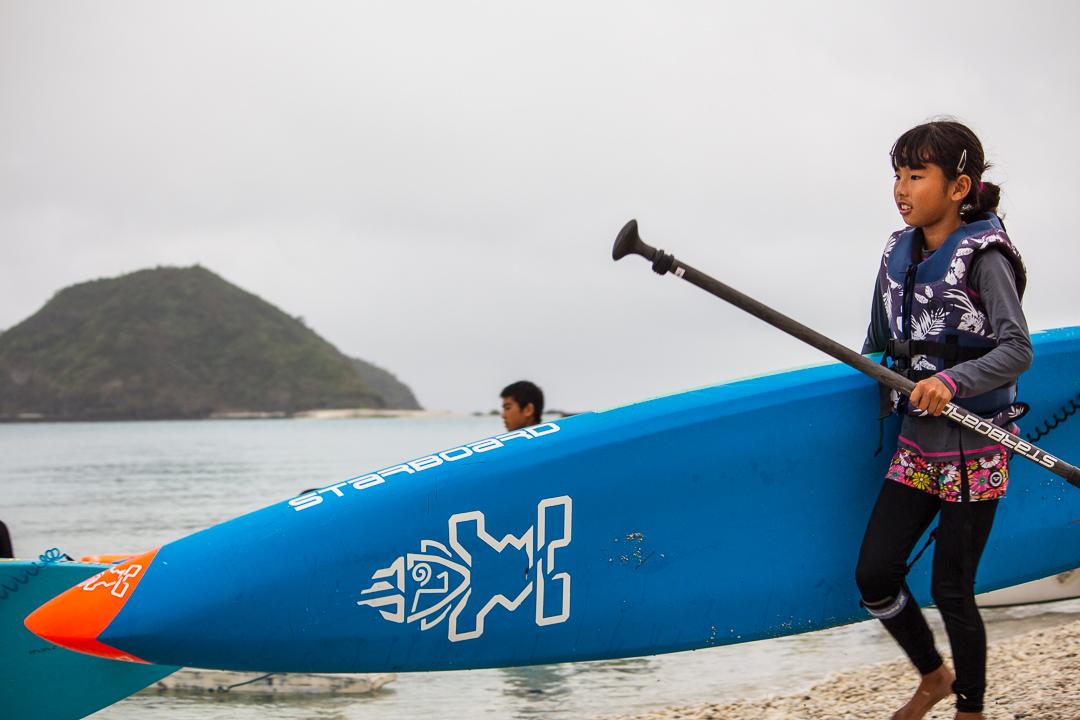 2019 kerama blue zamami island starboard sup kids clinic with daniel hasulyo 1