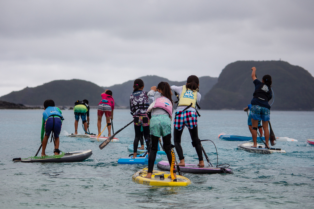 2019 kerama blue zamami island starboard sup kids clinic with daniel hasulyo 2