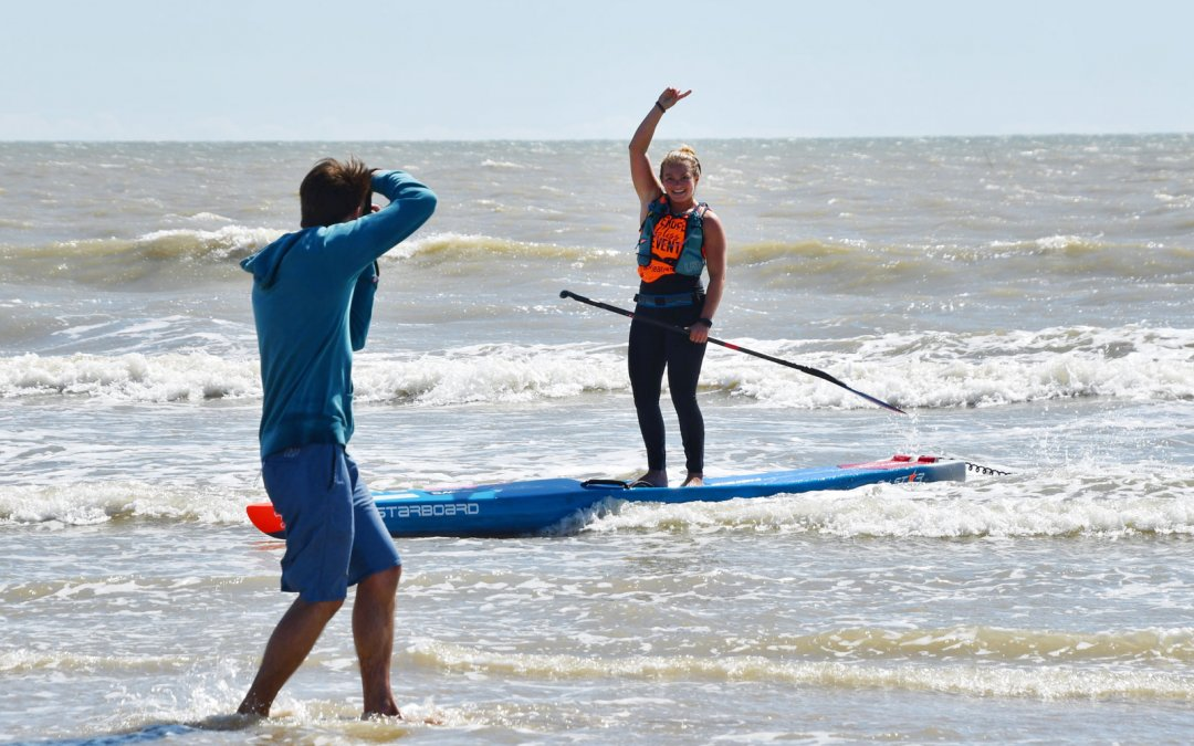 Wylde Surfs to Victory at 2019 Vendée Gliss SUP Race
