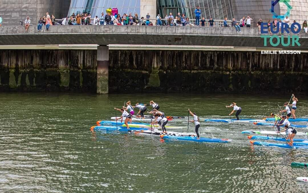 2019 Bilbao World SUP Challenge Delivers an Exciting Day of Racing Action