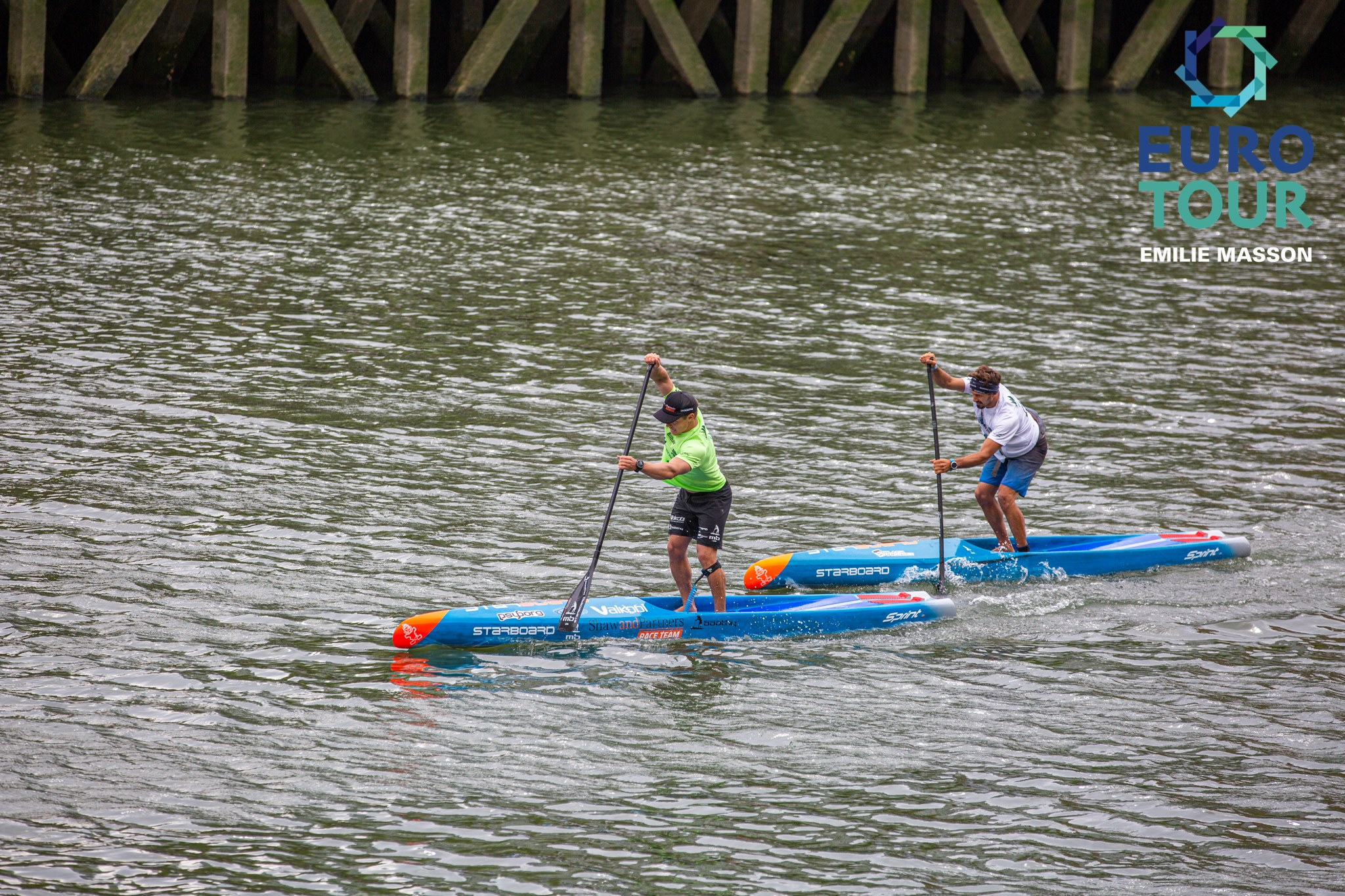 2019 Bilbao World SUP Challenge SUP Euro Tour mens elite michael booth leo nika