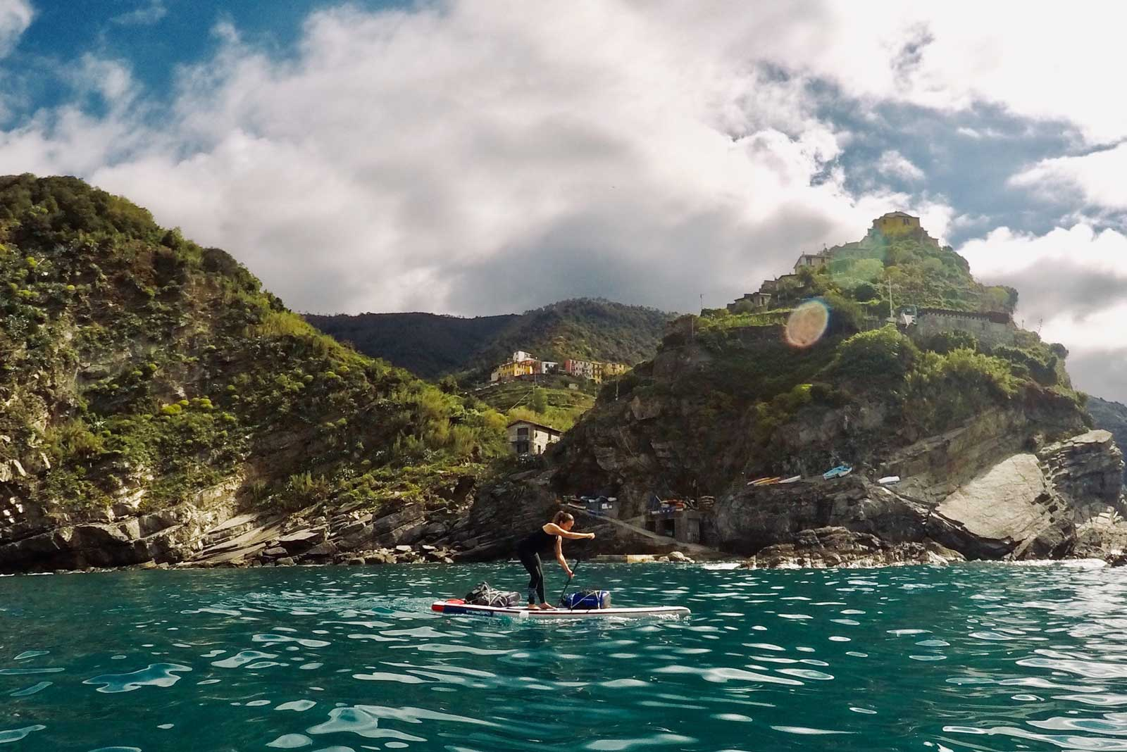 The-Three-Day-Effect-in-Italy-with-Linzi-Hawkin-Cinque-Terre-Stand-Up-Paddleboarding-adventure-blue-water