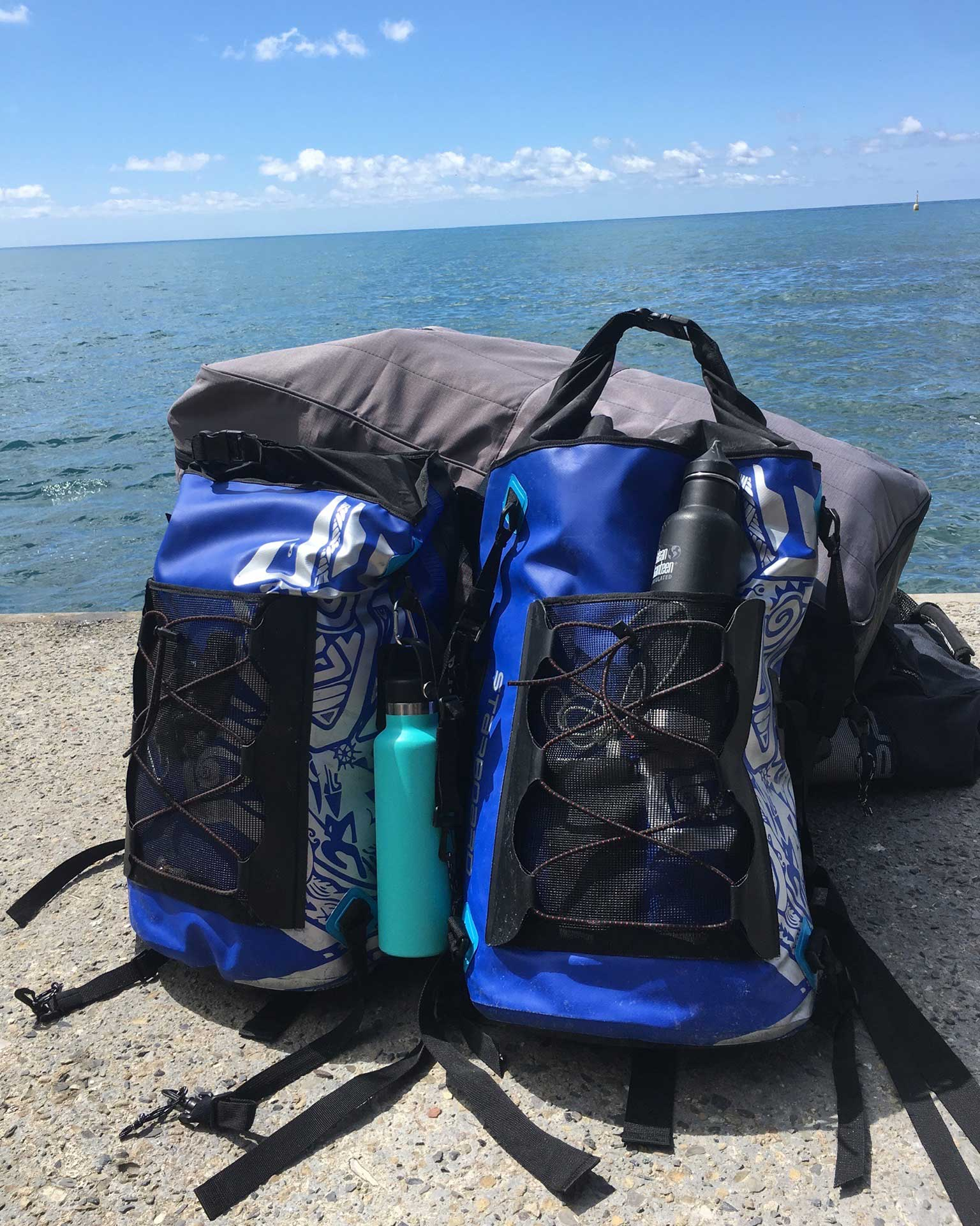 The-Three-Day-Effect-in-Italy-with-Linzi-Hawkin-Cinque-Terre-Stand-Up-Paddleboarding-adventure-dry-bag