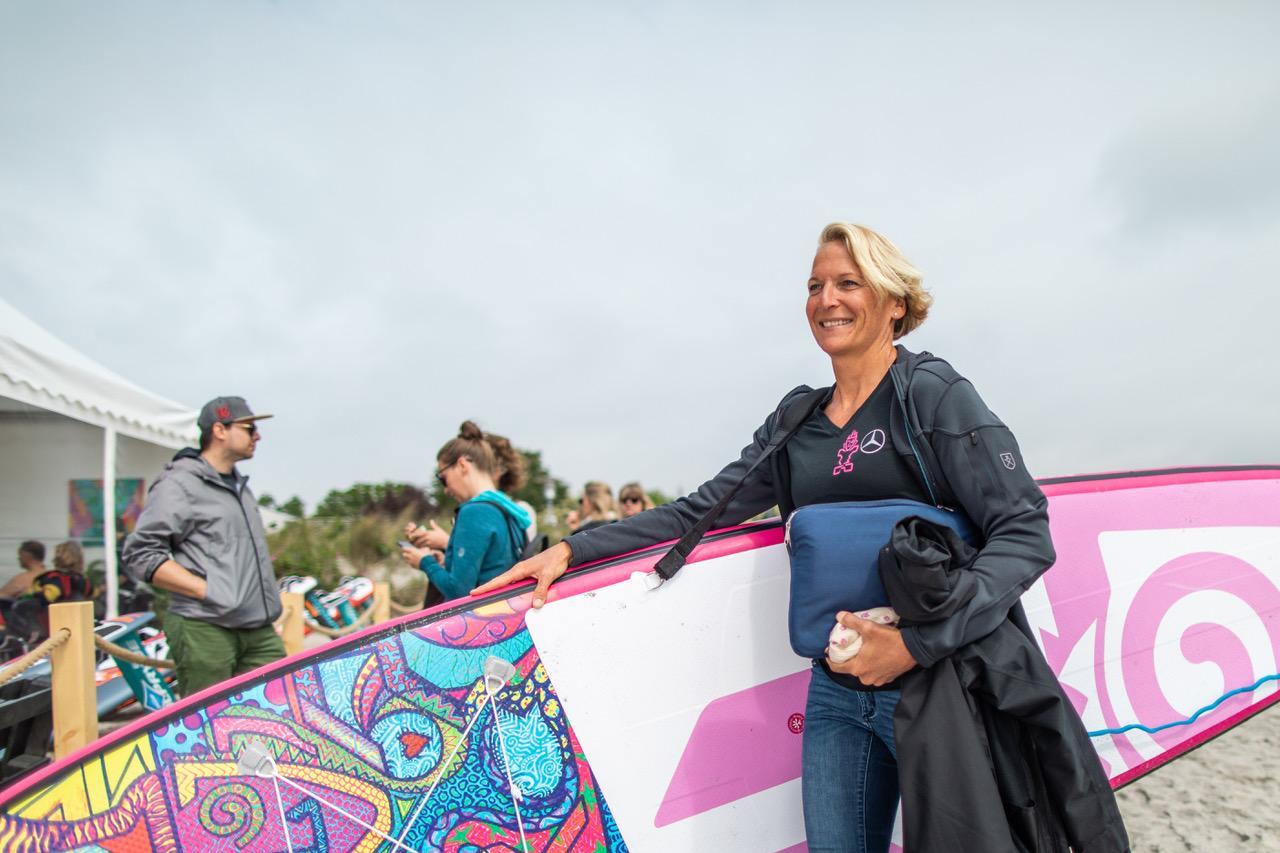 Sonni Hoënscheid Talks at Surf Festival Fehmarn mercedes benz roiders academy speach m2o experience herop tikhine on sholder