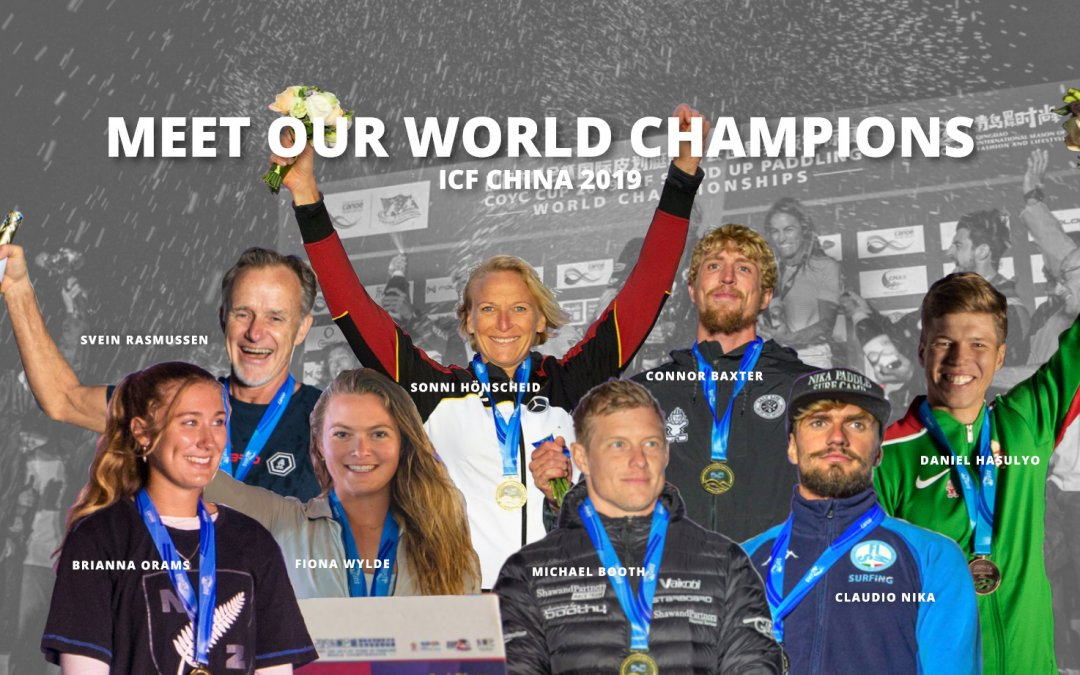 Meet Our World Champions: 2019 ICF SUP World Champs