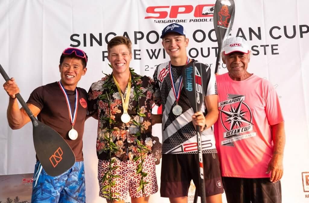 Daniel Hasulyo Wins 2019 Singapore Ocean Cup